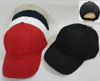 Nylon Ball Cap [Solid Colors]